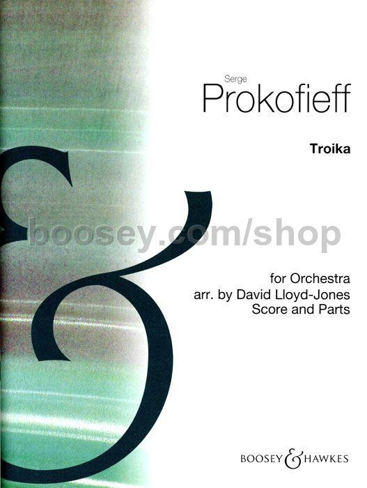 Serge Prokofieff - Troika (Sleigh Ride from Lieutenant Kije