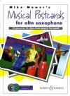 Mower, Mike: Musical Postcards for Alto Sax (Bk & CD)