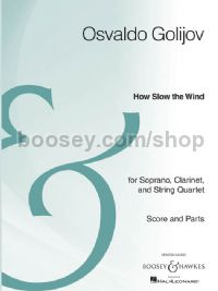 How Slow the Wind (score & parts)