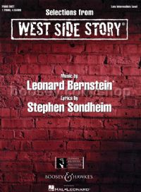 Selections from West Side Story - piano 4-hands