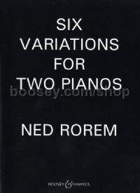 6 Variations for 2 Pianos