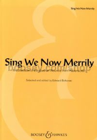 Sing We Now Merrily - choral unison