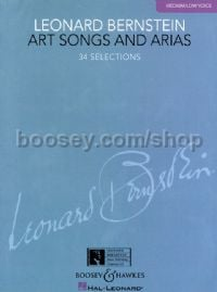 Art Songs and Arias - low voice