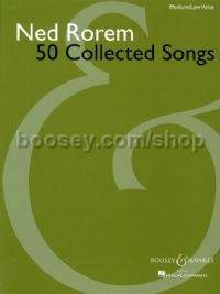 50 Collected Songs - medium/low voice & piano