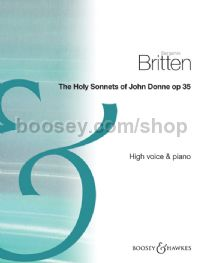 Holy Sonnets of John Donne - high voice & piano