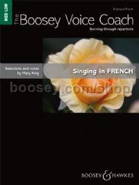 Singing in French - medium/low voice & piano