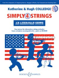 Simply 4 Strings: An American Suite (New Edition)