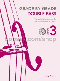 Grade By Grade: Double Bass - Grade 3