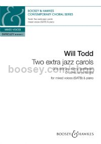Two Extra Jazz Carols (SATB & Piano)