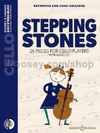 Stepping Stones (Cello - Book & CD - New Edition)