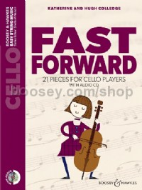 Fast Forward (Cello - Book & CD - New Edition)