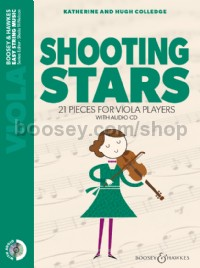 Shooting Stars - Viola (Repackage - Book & CD)
