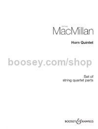 Horn Quintet (Set of String Parts)