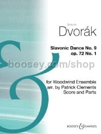 Slavonic Dance No9 Op72/1 arr. Clements