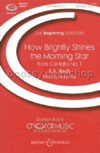 How Brightly Shines - choral unison & piano
