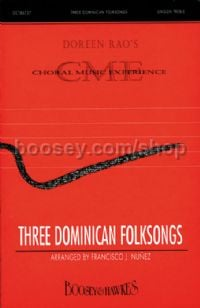 Three Dominican Folk Songs - choral unison & piano