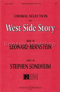 Selections from West Side Story SATB & piano