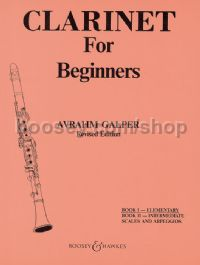Clarinet for Beginners 1