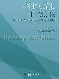 The Violin for Two Solo Violins and Tape