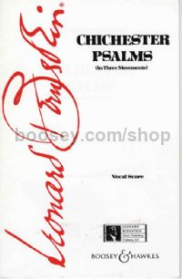 Chichester Psalms SATB & piano