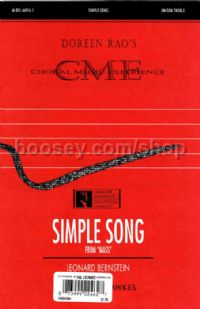Simple Song - choral unison & piano