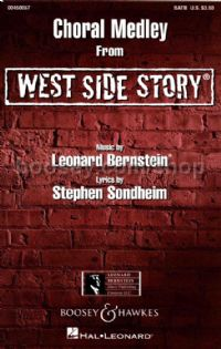 West Side Story Choral Medley SATB & piano