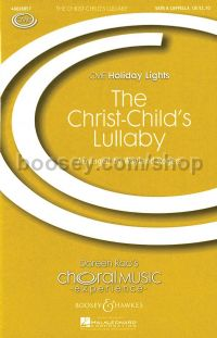 The Christ-Child's Lullaby SATB