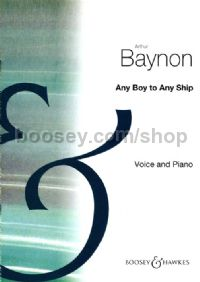 Any Boy To Any Ship - choral unison & piano