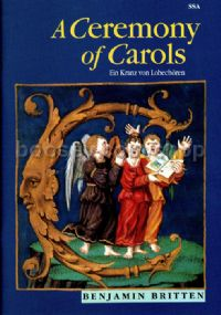 A Ceremony Of Carols SSA & harp