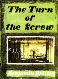 The Turn of the Screw, op. 54 - vocal score