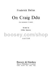On Craig Ddu SATTBB & piano