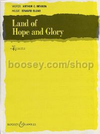 Land of Hope and Glory - medium voice & piano