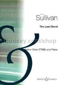 The Lost Chord TTBB & piano