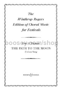 The Path To The Moon - choral unison & piano