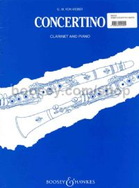 Clarinet Concertino Op26