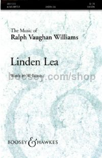Linden Lea - choral unison & piano