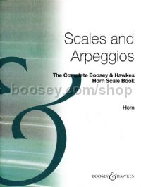 Complete B&H Horn Scales Book