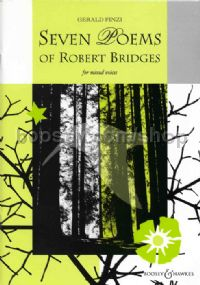 Seven Poems of Robert Bridges op. 17