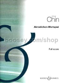Acrostic-Wordplay/Akrostichon-Wortspiel