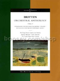 Orchestral Anthology volume one - study score