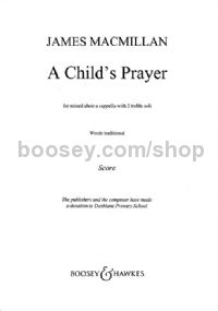 A Child's Prayer SATB