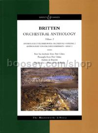 Orchestral Anthology volume two - study score