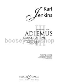 Adiemus III: Dances of Time SSA, piano & recorder