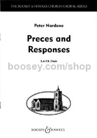 Preces and Responses SATB