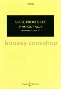 Symphony No4 - first version Op47