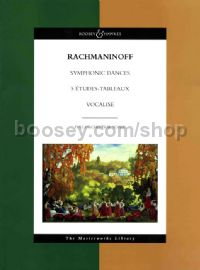 Symphonic Dances, Etudes Tableaux, Vocalise