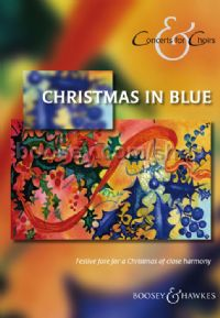 Christmas in Blue SATB