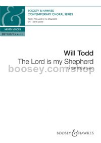 The Lord is my Shepherd (SATB)