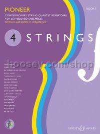 4 Strings Book 3 - Pioneer (Score & CD)