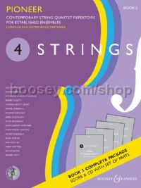 4 Strings Book 3 - Pioneer (Score, Parts & CD)